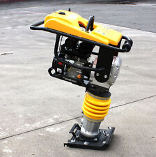Jumping Jack Tamping Rammer Dirt Soil Tamper Compactor With65hp 196cc Gas Power