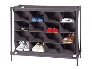 Schuhschrank-Schuhregal-Schuhstaender-Schuhablage-Regal-System-16-Schuhe-TOP