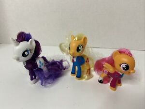 My Little Pony  Exclusive School of Friendship Lot of 3 Rarity, Scootaloo, Apple