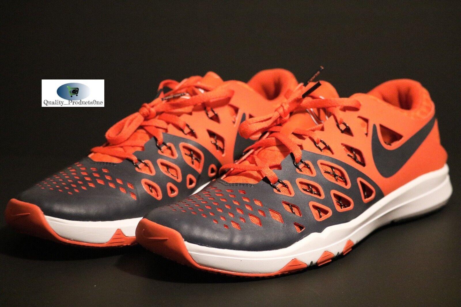 NEW NIKE MENS TRAIN SPEED 4 AMP DENVER BRONCOS NFL SHOES 848587 412 Sz 10  Cheap women's shoes women's shoes