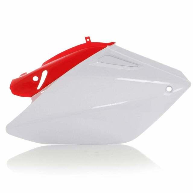 Acerbis Motor Bike Motorcycle Side Panels - Honda CRF250X 2004-18 - Red/ White