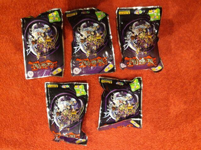 New Sealed Panini Yu-Gi-Oh Waps x5 Packs Containing 2 Waps 1 Laser Wap Per Pack