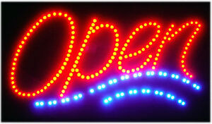 BRIGHT-NEW-LED-OPEN5-Neon-SIGN-bar-cafe-Shop-Cafe-Bar-Pub-ANIMATED-220V-250V-O5