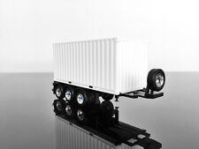 H0 HERPA Trailer Container 1/87 Scale