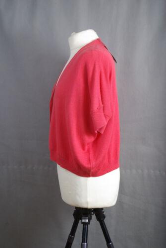 01 Cardigan Pied Pomegrante Oversize cashmere L147 Bnwt 10 Nomad Terre Cotton A 80wmNnv