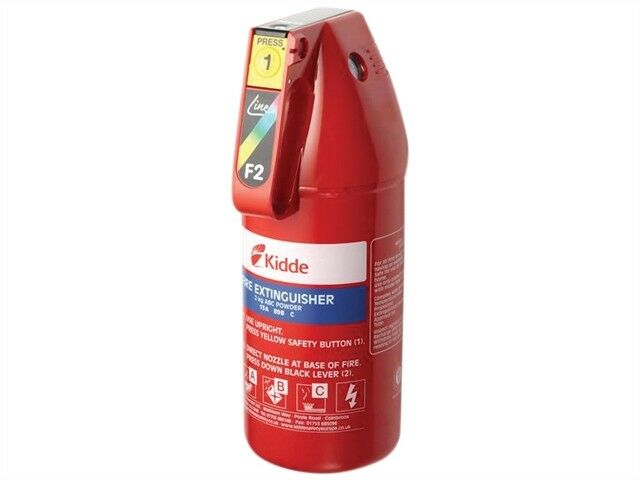 Easi-Action Home Fire Extinguisher 2.0kg  - KIDKSF2GM