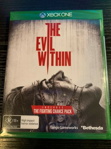 THE EVIL WITHIN NEW AND SEALED XBOX ONE