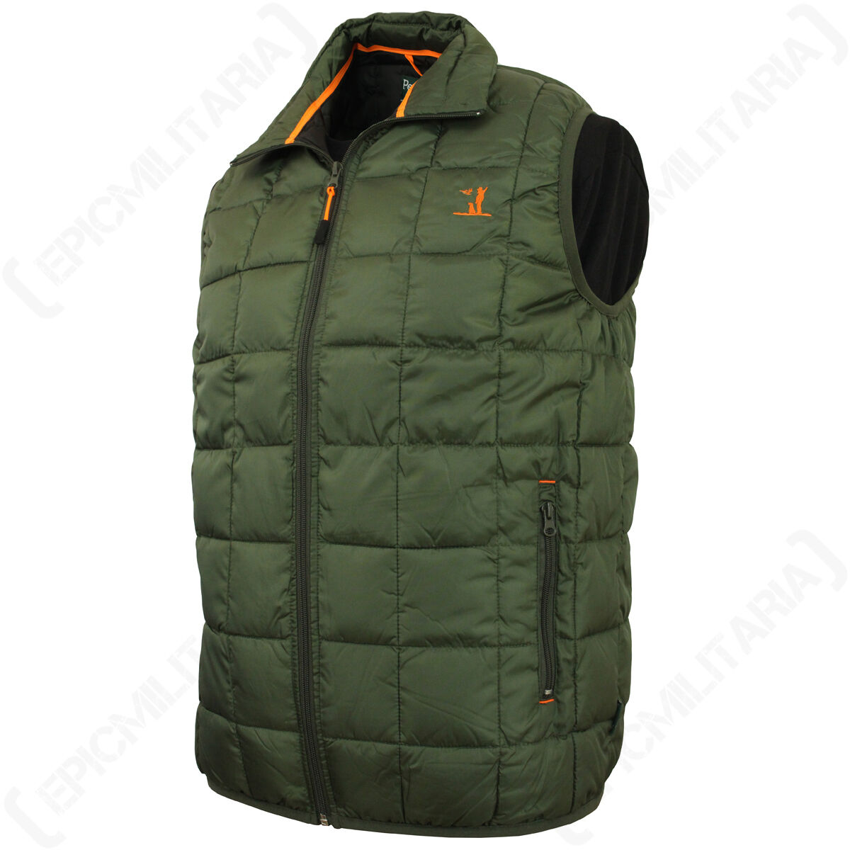 854bc22cf24 Percussion Idaho Hunting Warm Gilet Vest - Olive - Body Warmer Waistcoat  Outdoor