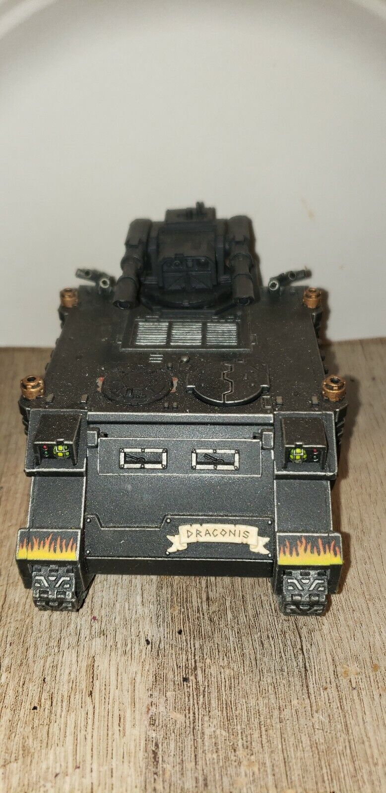 Warhammer 40k space marine Tank