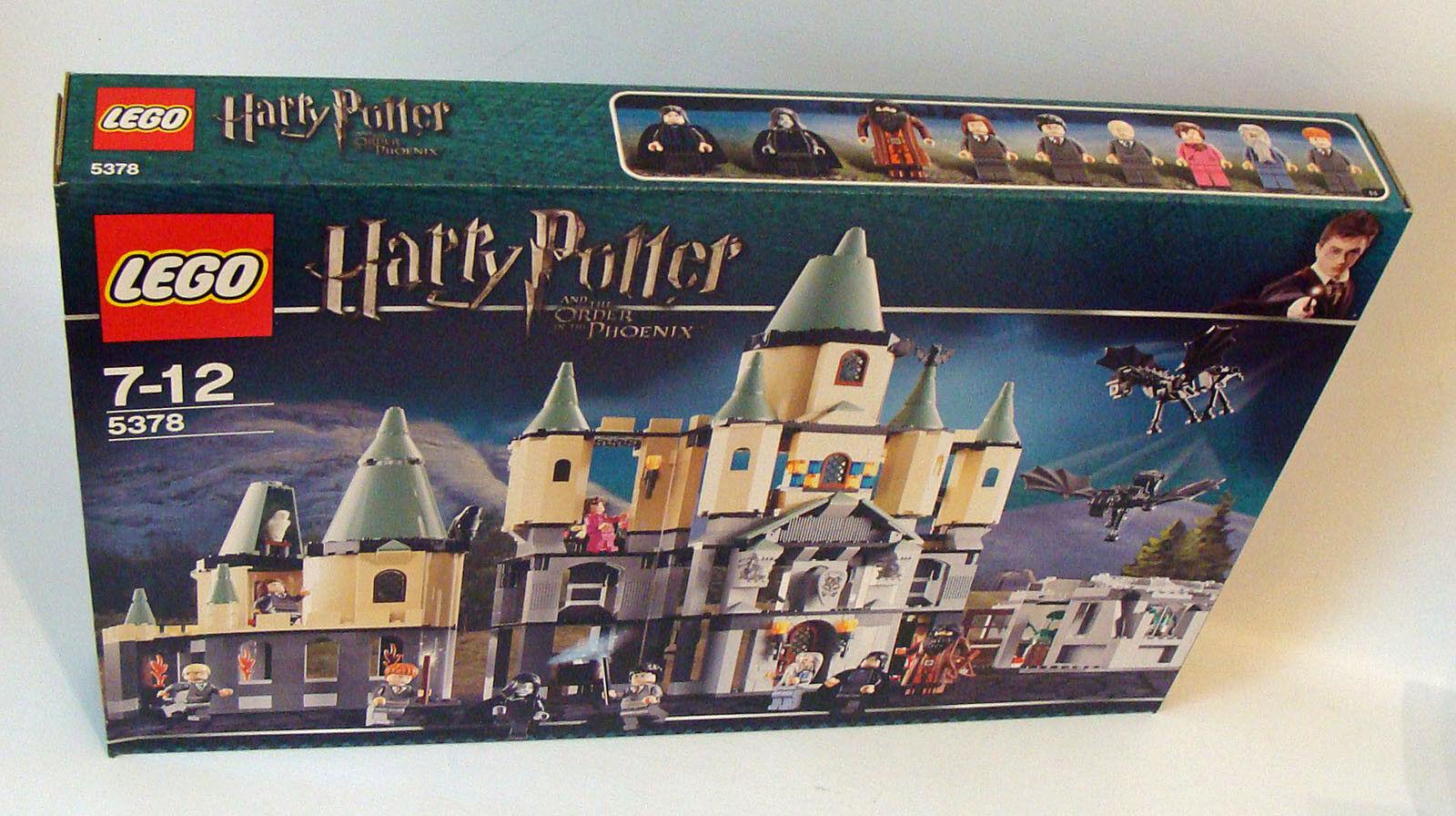 LEGO ® Harry Potter 5378-CASTELLO HOGWARTS 943 parti 7-12 ANNI-NUOVO