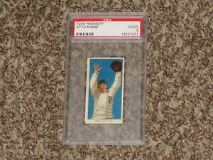 Otto Knabe T206 Piedmont Iconic Set 1909 Philadelphia RARE CARD Good PSA 2