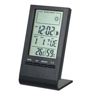 Mini Digital Thermometer Indoor Hygrometer Room ℃/℉ Temperature Humidity O2J1