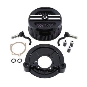 Luftfilter-Air-Cleaner-Fuer-Harley-Sportster-XL-883-1200-SuperLow-07-19-16-14-12