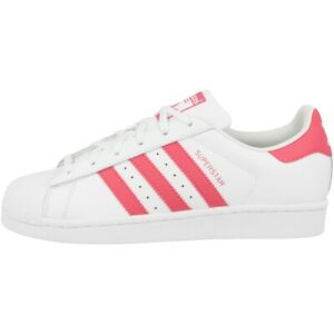 Adidas Superstar J Schuhe Damen Retro Freizeit Sneaker