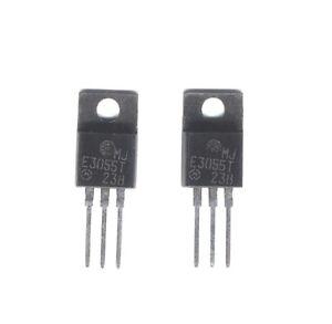 Un Lot De 2 Transistors De Puissance Mje3055 - Motorola M9ifw1hk-07161455-605887977