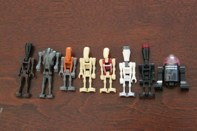 1x LEGO STAR WARS MINI FIGURE MINIFIG Super Battle Droid Pilot Astromech Excelle