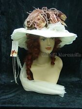 Vintage Victorian Edwardian style Elsie Massey 8027 hat and hatpin