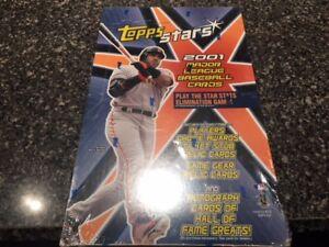 2001-Topps-Stars-Baseball-Hobby-box-Pujols-Rookie-Year