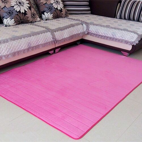 Contemporary Modern Soft Area Rugs Nonslip velvet fabric Home Carpet Floor Mat