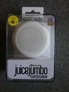 Saft Jumbo Marshmallow Bluetooth-Lautsprecher-weiß