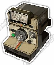 "Old Vintage Retro Photo Camera Polaroid Car Bumper Vinyl Sticker Decal 4""X5"""