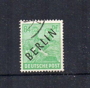 Germany - Berlin 1948 84pf Allied Occupation opt FU CDS