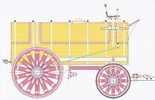 Horse Drawn Tank Wagon - 1:24 G Scale Model Plan-Set Drawings