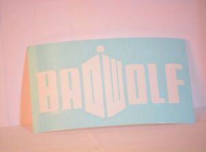 Bad-Wolf-Doctor-Who-Precision-Cut-Vinyl-Decal-Choose-Your-Color-Badwolf
