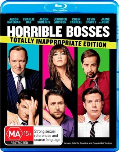 1 of 1 - Horrible Bosses (Blu-ray, 2012)