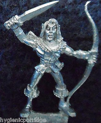 1990 Sea Elf MM82 SE 9 Marauder Elven Army Aquatic Warhammer Citadel AD&D Metal