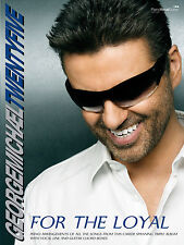 Twenty-Five For The Loyal George Michael Pop Piano Guitar FABER Music BOOK