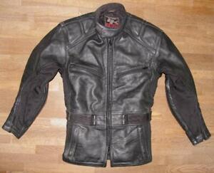 034-TK-2-KEEN-by-GERICKE-034-Motorrad-Lederjacke-Jacke-in-schwarz-XS-ca-Gr-44