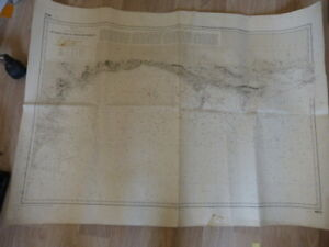 carte-hydrographique-de-la-marine-de-start-point-au-cheval-des-needles-car01