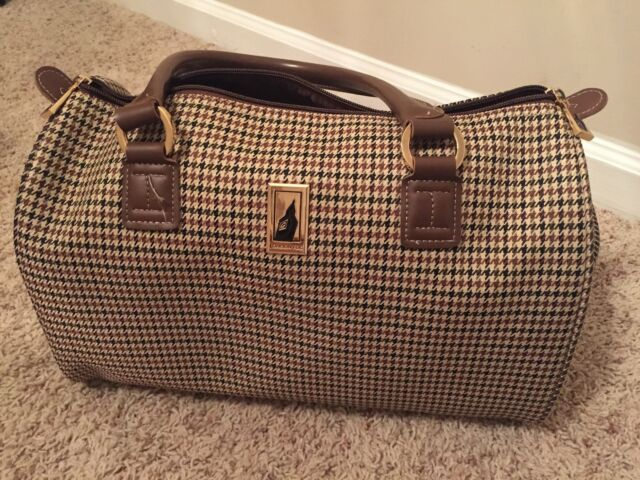 Openbox London Fog Luggage Chelsea 17 Inch Computer Bag Olive Plaid One Size For Sale Online Ebay