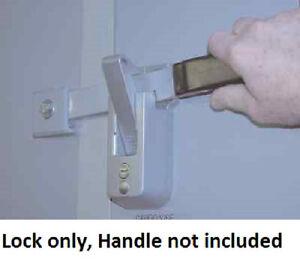 1 Fic Self Locking Cargo Trailer Cambar Door Latch Vise