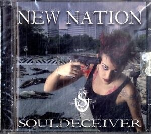 SOULDECEIVER-New-Nation-CD-NEW-Sigillato
