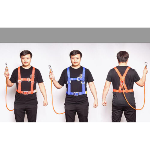 12mm Safety Harness Lanyard Strap Fall Protection Aerial Rock Climbing Sling