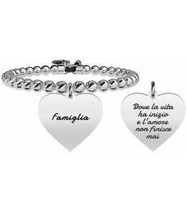 Kidult-bracciale-Family-Collection-CUORE-FAMIGLIA-731327-ORIGINALE-NUOVO