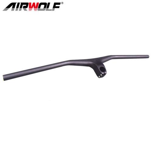 mountain bike handlebars carbon integrated bicycle handlebar mtb 660-800mm