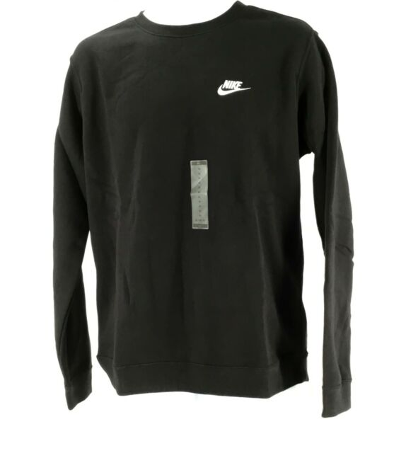 NWT Nike Club Men/'s Crew Fleece Sweatshirt Various Sizes//Colors 804340