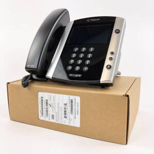 Polycom-VVX-601-IP-Phone-PoE-2200-48600-025-Bulk-New