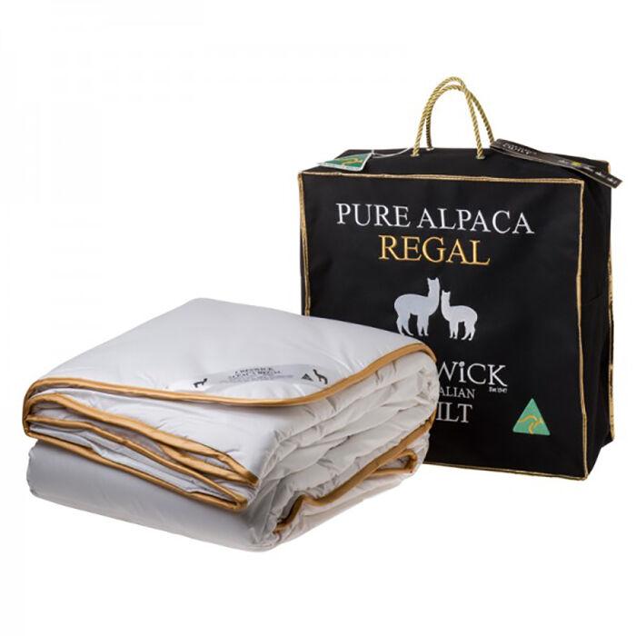 Creswick 100% Pure Alpaca Wool 500GSM Doona Quilt SUPER KING QUEEN DOUBLE SINGLE