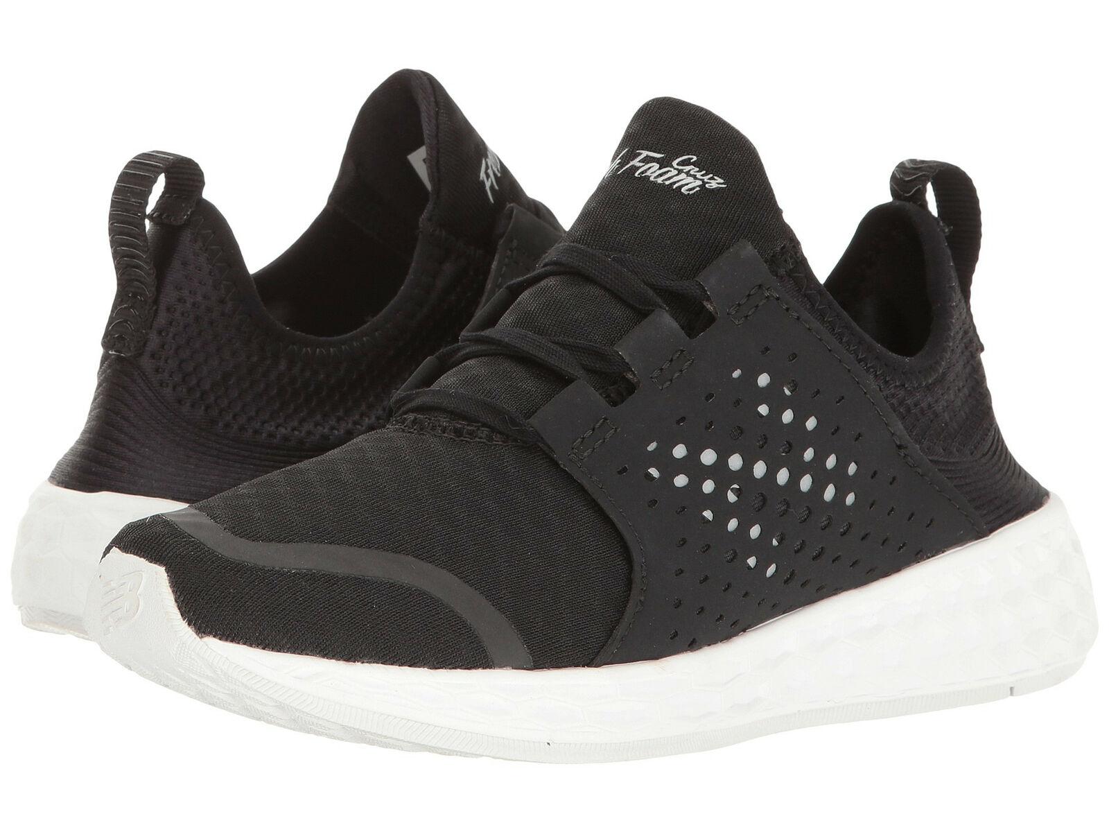 New Balance Fresh Foam Cruz Women's Sneaker shoes Black White WCRUZBK