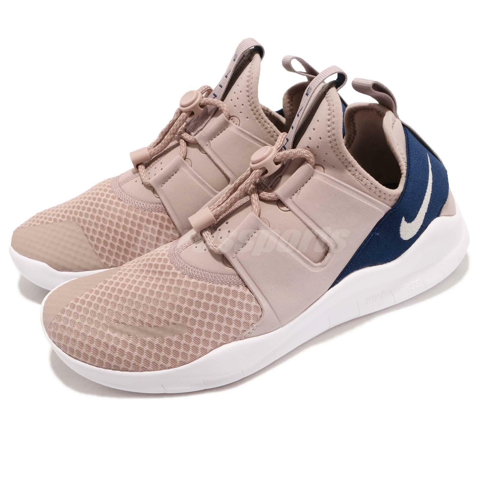 Nike Free RN CMTR 2018 Run Diffused Taupe Beige bluee Lifestyle shoes AA1620-200