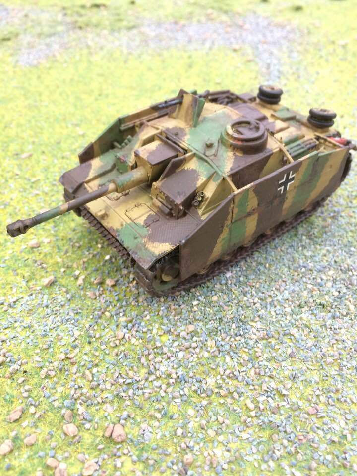 Warlord Bolt Action, German Stug, Pro Painted to Order