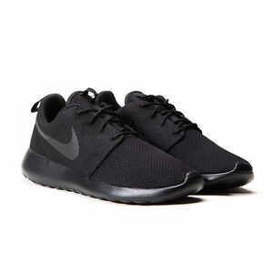 Image is loading Nike-Roshe-One-Mens-Triple-Black-511881-026- 93b7a28ad