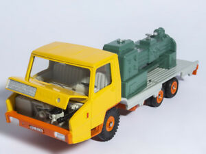 1-43-Atlas-Dinky-Toys-569P-Berliet-Stradair-Plateau-surbaisse-porte-CAR-MODEL