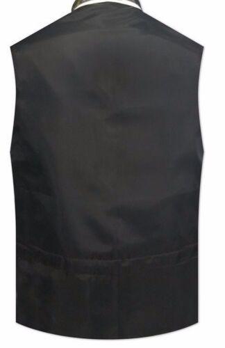 Mardi Gras Tuxedo Vest Self Tie Bow Purple Gold Green S M L XL 2XL 3XL 4XL 5XL