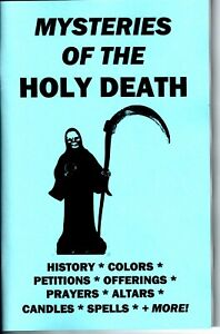 Details about MYSTERIES OF THE HOLY DEATH book Santisima Muerte Santa  ENGLISH RARE !!!!!!