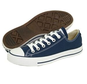 1269b4d8119f Converse Classic Chuck Taylor All Star Navy Blue Trainer Low OX ...